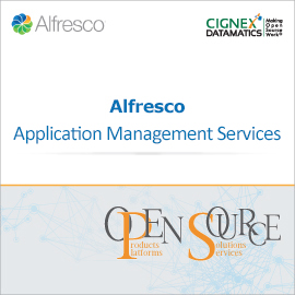 CIGNEXDatamatics Alfresco AMS Brochure