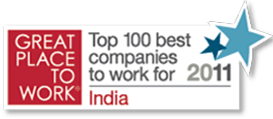 CIGNEXDatamatics_gptw_India_Top100_Bestcompanies2011