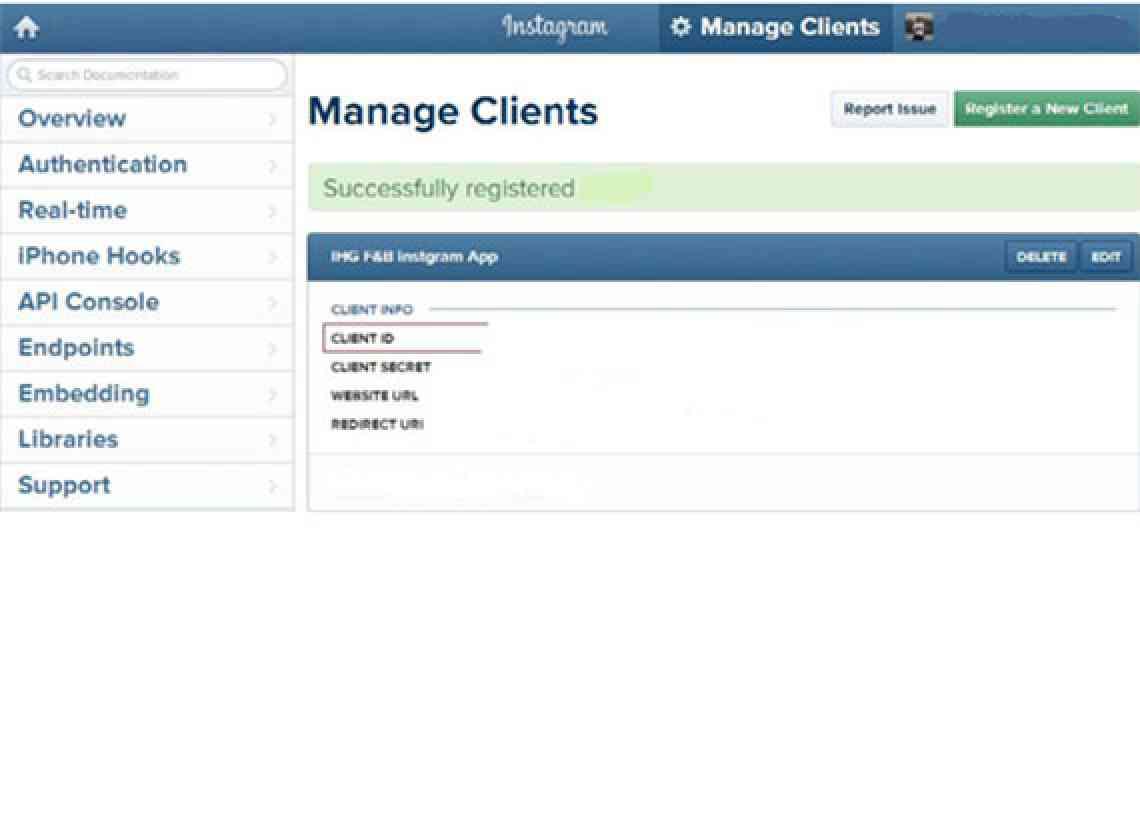 Manageclient_InstaFeed_CIGNEXDatamatics
