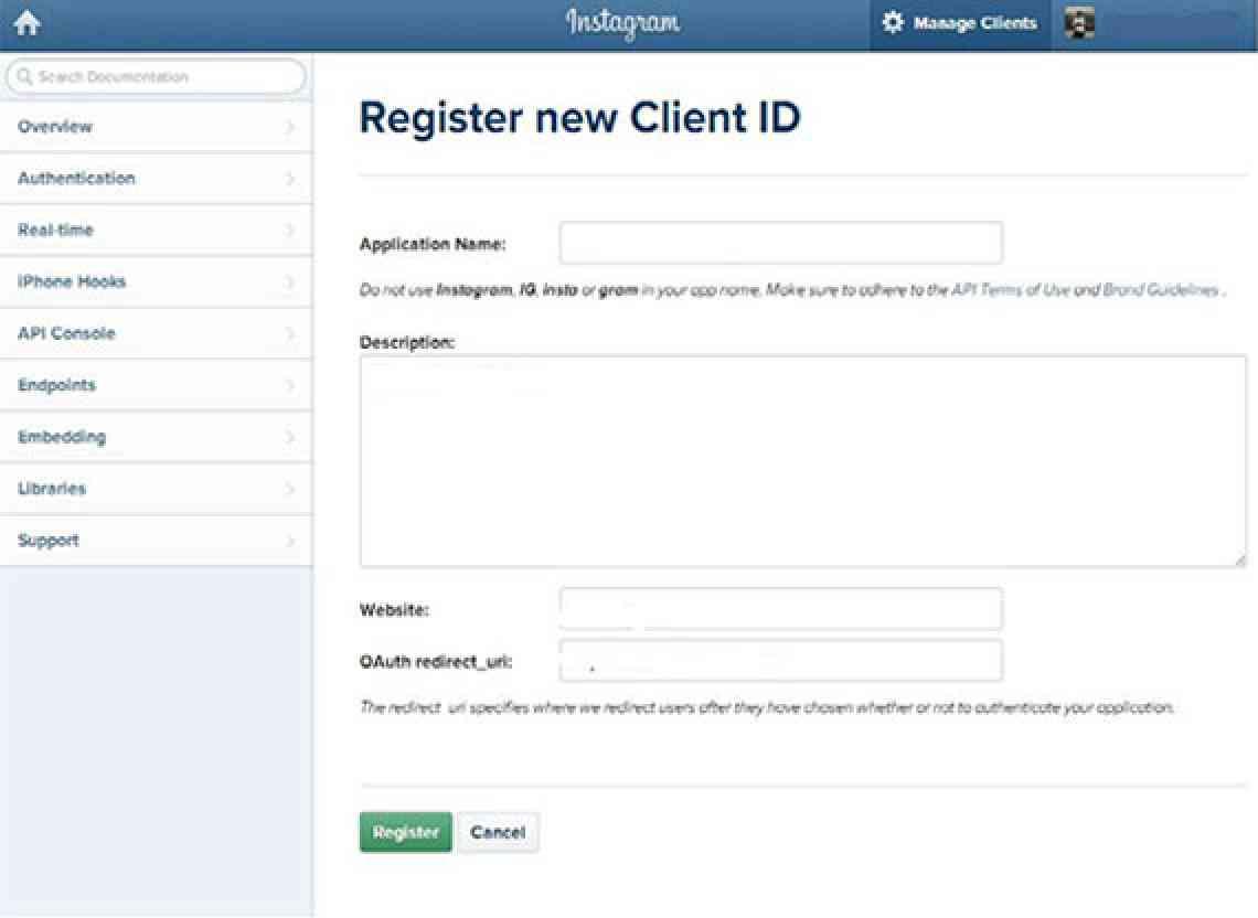 Register_InstaFeed_CIGNEXDatamatics