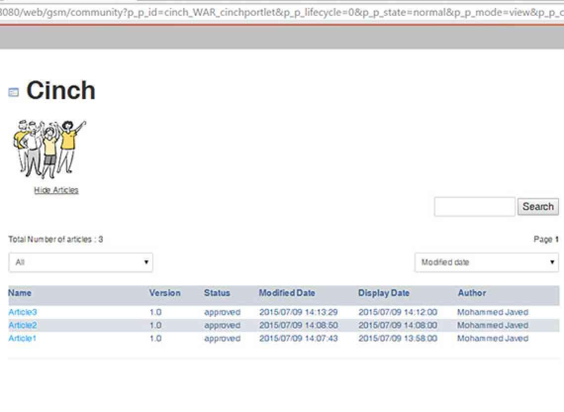 Screenshot1_Cinch_CIGNEXDatamatics