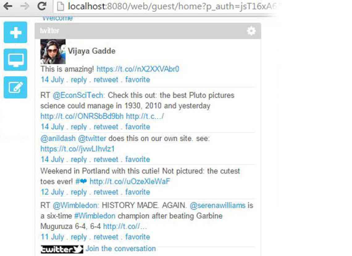 twitter_displaying_twitts_of_vijaya_on_twitter_portlet_CIGNEXDatamatics