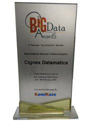 Best Analytics Service in Sales Analytics Award