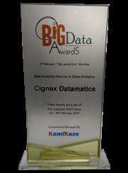 Best Analytics Service in Sales Analytics Award