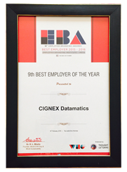 CIGNEXDatamatics_9th_Best_Emplyer_of_The_Year