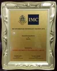 CIGNEXDatamatics_IMC_IT_Quality_2015_CIGNEXDatamatics