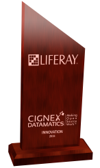Liferay_innovation_award_CIGNEXDatamatics