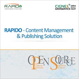 RAPIDO - Content Management & Publishing Solution