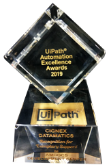 UiPath Partner Recognition Awards 2019